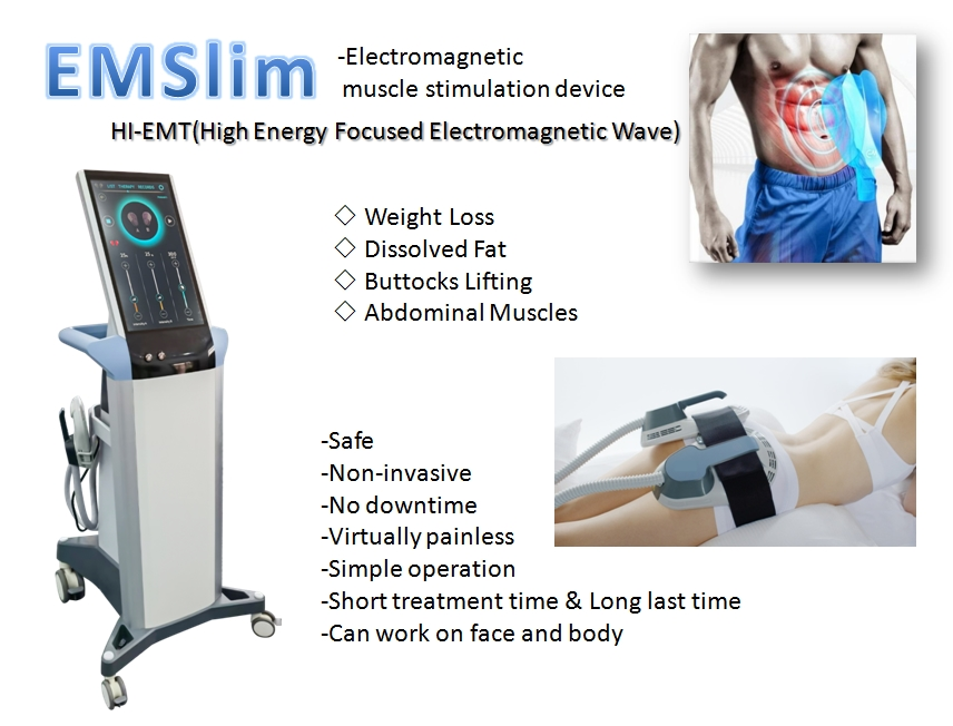 BTL EMSCULPT HIFEM for Body Shaping and Muscle Building