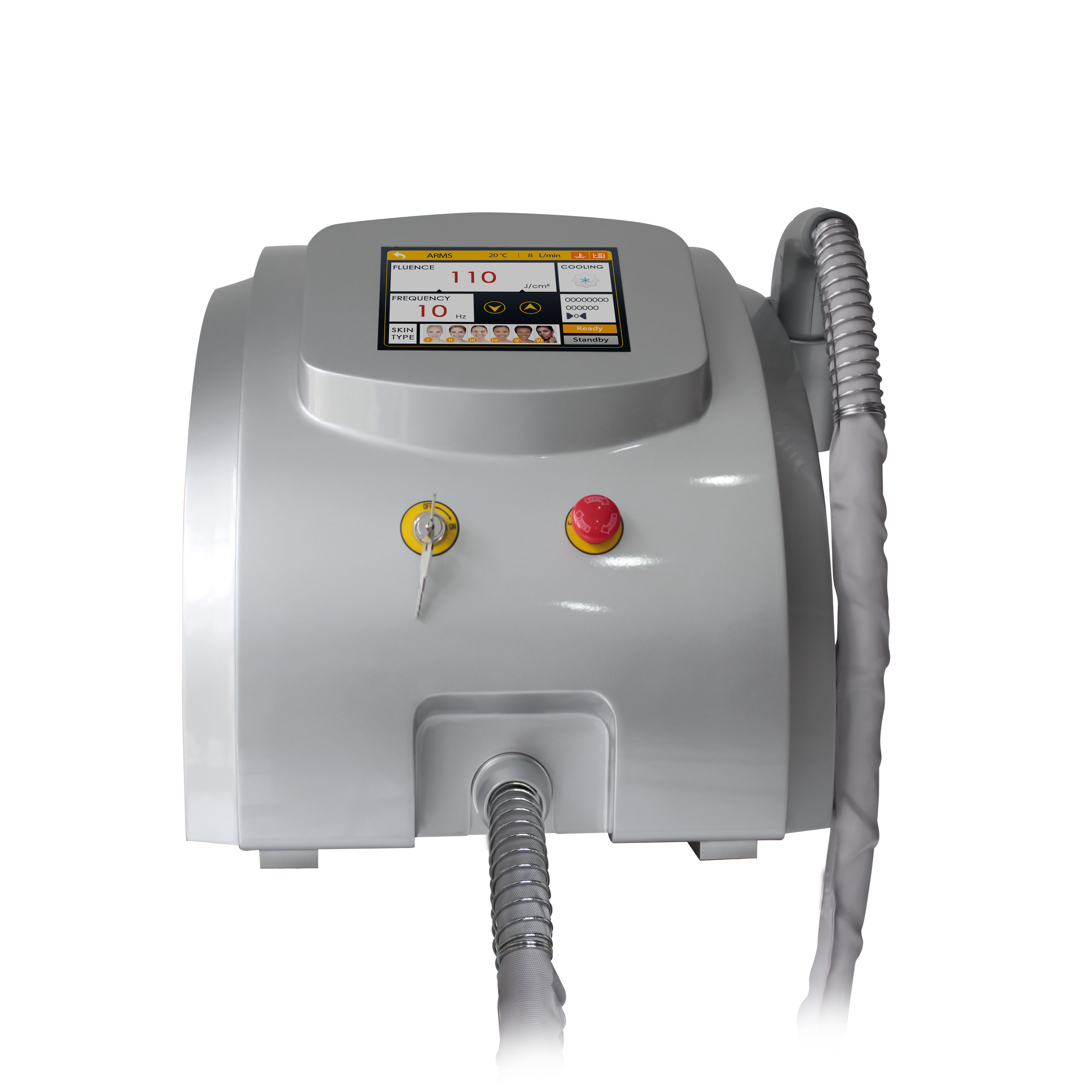 808 diode laser 1200w/fiber coupled diode laser hair removal machine